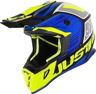 Just1 J38 Blade Motocross Helm Blau/Gelb XS