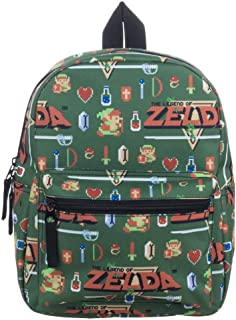 Zelda Video Game Sublimated Print Mini Backpack
