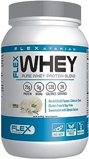 Flexatarian 100% Whey Protein, Vanilla, 2 Pound