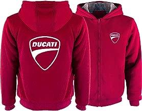 Ducati Corse Polo Homme Noir Insert Yoke Taille XXL