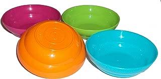 Tupperware Mini Bowls Play Set Doll Size Bright Colors Set of 4