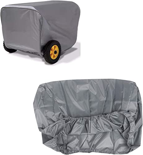 high quality OPTIMISTIC Waterproof Generator Cover Protective Shield for Outdoor popular Portable Generator Heavy Duty Durable Cover for popular Most Generator, Elastic Hem and Folding Design (L,30X23X23IN) sale