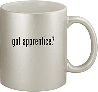 got apprentice? - Ceramic 11oz Silver Coffee Mug, Silver