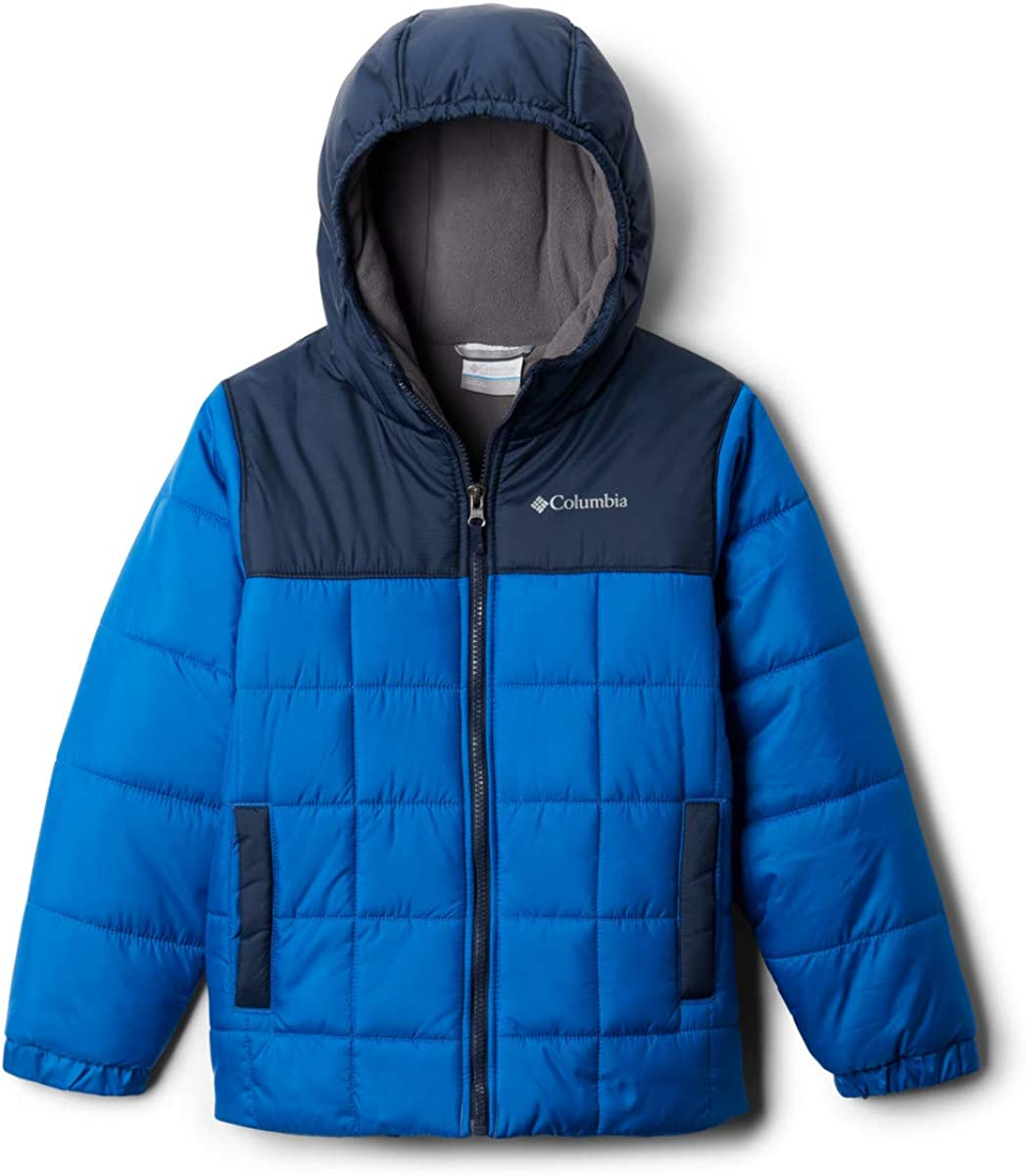 Columbia Boys' Puffect II Puffer Full Zip Jacket