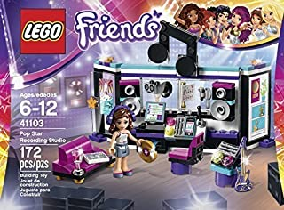 LEGO Friends Pop Star Recording Studio Music Toy for Kids (172pcs) Figures Building Block Toys