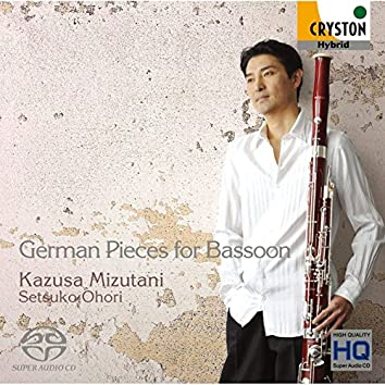 German Pieces for Bassoon - Hindemith,etc