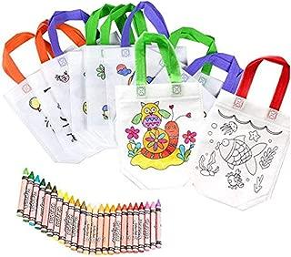 Ideal para Regalos de Fiestas de Cumplea/ños y Escolares 30 Sets de 5 Ceras de Colores y 30 M/áscaras 30 Mochilas de Colorear Partituki Detalles Cumplea/ños Infantiles