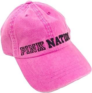 Pink Nation Neon Baseball Hat