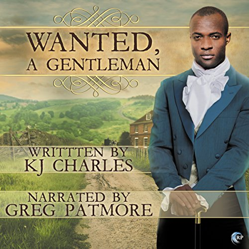 Wanted, a Gentleman audiobook cover art