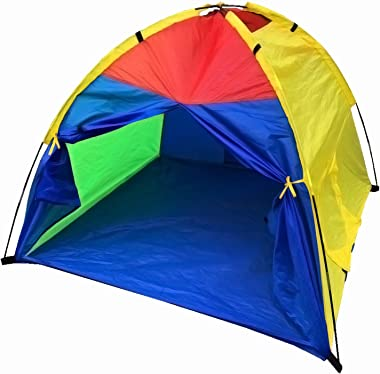 """LimitlessFunN Large Kids Play Tent for Girls & Boys, Indoor & Outdoor Use, Camping Children Playhouse 60""""x60""""x47"""""""