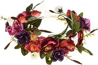 Rose Flower Headband Floral Crown Garland Halo