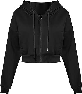 Best black crop top jacket Reviews