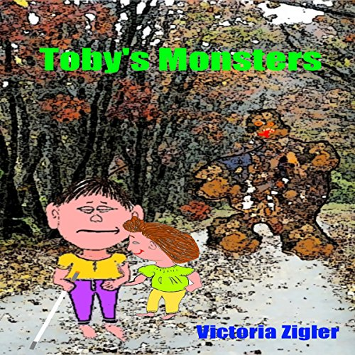 Toby's Monsters audiobook cover art