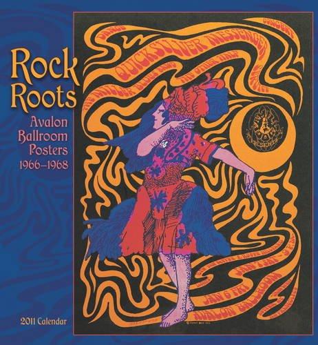 Rock Roots Avalon Ballroom Posters 1966-1968 Calendar
