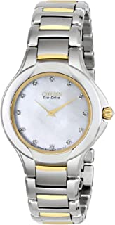 Women's EX1184-51D Fiore Analog Display Japanese Quartz Two Tone Watch
