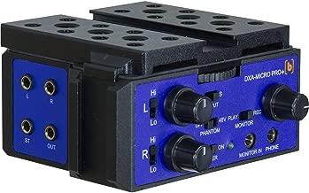camcorder xlr adapter