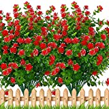 Artificial Flowers Outdoor Plast...