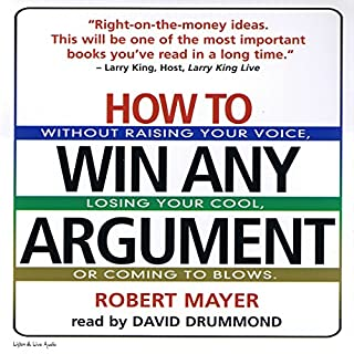 How to Win Any Argument audiobook cover art
