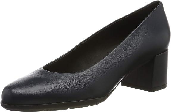 TALLA 36 EU. Geox D New Annya Mid A, Zapatos con Tacón Niñas