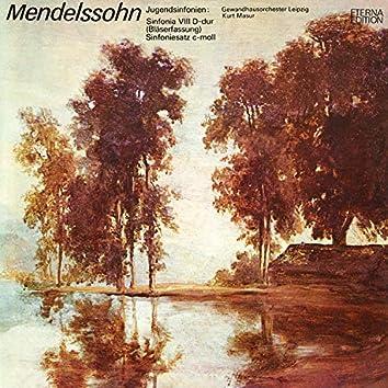 Mendelssohn: Jugendsinfonien No. 8 & Sinfoniesatz