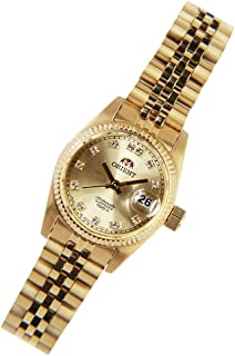 ORIENT AUTOMATIC FEMALE GOLD WATCH SNR16001G SNR16001G0