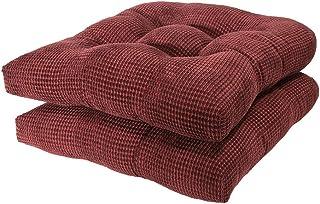 Arlee - Tyler Chair Pad Seat Cushion, Memory Foam,...