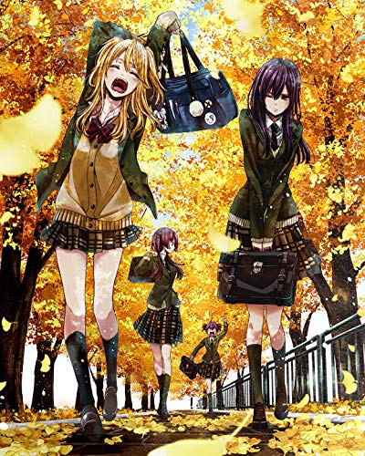 SUPERIOR POSTER - Citrus - Anime Manga Art Wall Print - TV Show Japanese High Quality - 16x20 Inches