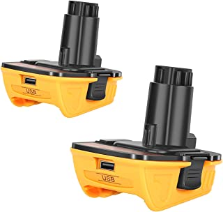 Battery Adapter Current Converter For Dewalt DCB200 DCB205 Li-ion Battery,Battery Connector For Makita Diyeeni Battery Adapter