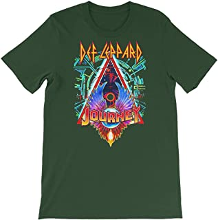 Def Leppard & Journey Tour Dates 2018 Shirt-Gift Tanks for Rock Band Lovers