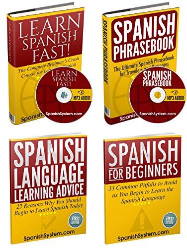 Learn Spanish: Spanish Books Box Set (Audio Included): Learn Spanish FAST!, Spanish Phrasebook, and More
