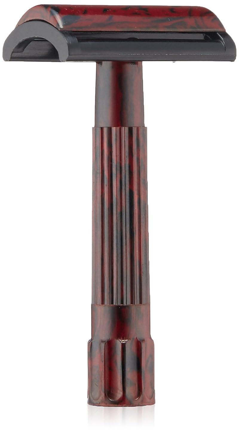 相対サイズコンデンサーこんにちはMERKUR Solingen - Travel pack, Bakelite safety razor and 10 blades, 9045030