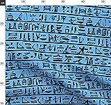 Schwarz Und Blau, Hieroglyphen, Ägypten, Antikes Ägypten,