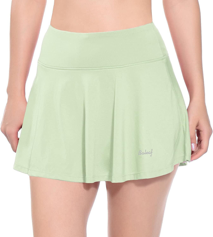 BALEAF Women's Athletic Skorts Lightweight Skirts Over item handling ☆ Active with Sh Ranking TOP17