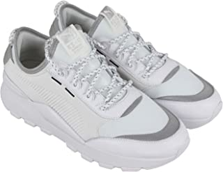 PUMA Rs-0 Optic Pop Mens White Mesh Leather Athletic Training Shoes a3a1fce5e
