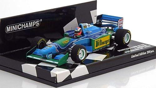 Minichamps 417941606 Miniaturauto aus der Kollektion, blau Grün Weiß