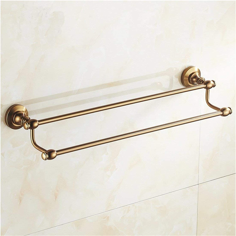 The European Space of The Aluminum Antique Copper Bathroom Accessories Door-soap,Double Pole