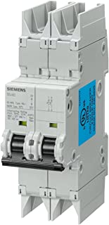 Type HSJ Siemens 5SJ41207HG40 Miniature Circuit Breaker 60 VDC 20 Ampere Maximum UL 489 Rated 240 VAC DIN Rail Mounted Tripping Characteristic C 1 Pole Breaker