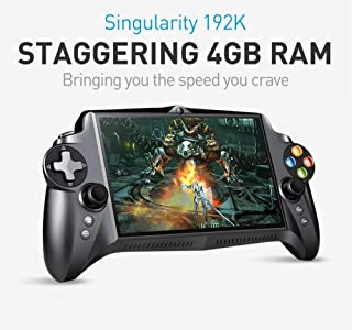"""JXD S192K Singularity [2019 June Update- Support Google Store] 7"""" 1920X1200 Quad Core 4G/64GB RK3288 Handheld Game Player Gamepad 10000mAh Android 5.1 Tablet PC Portable Video Game Console"""