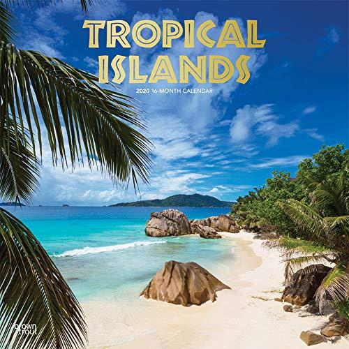 Tropical Islands 2020 Square Wall Calendar