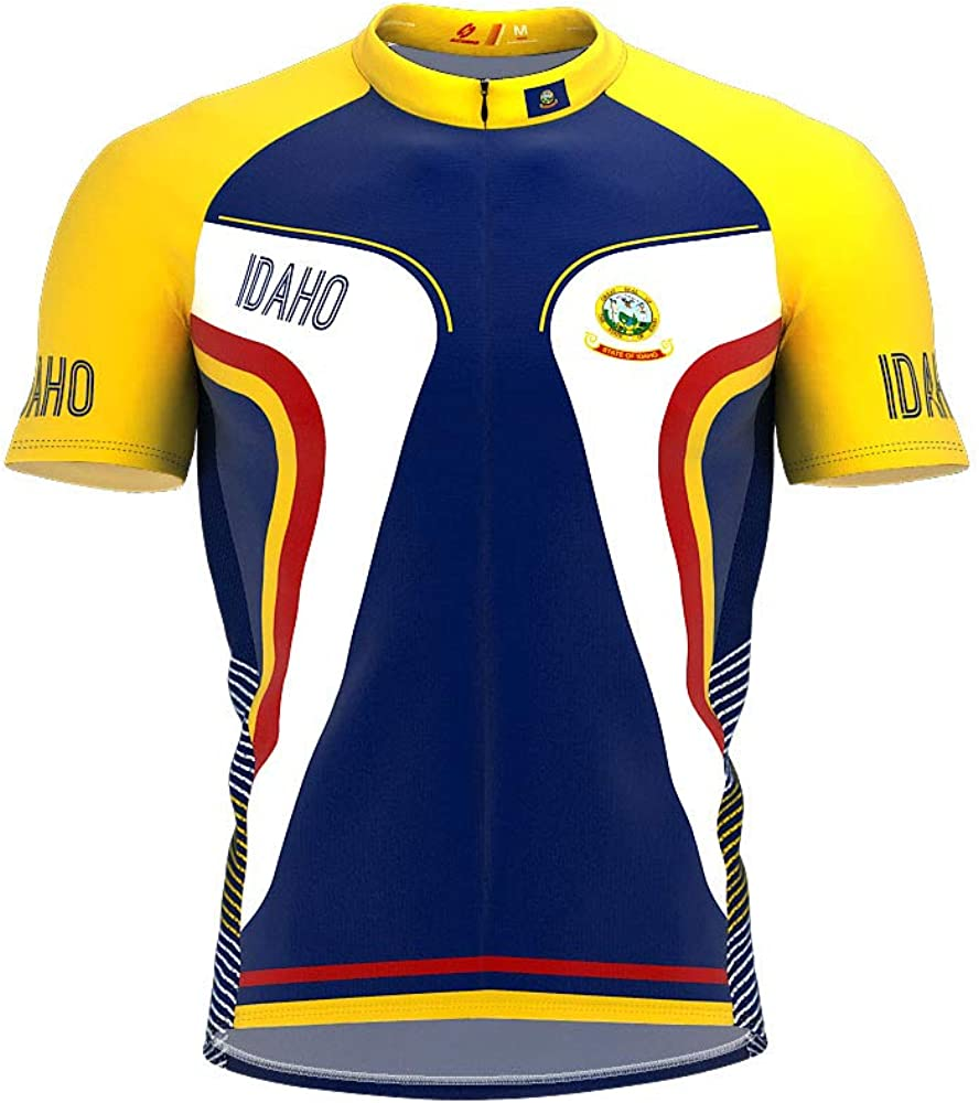In a popularity ScudoPro Idaho Bike Short Sleeve Jersey Men Cycling Ranking TOP11 for