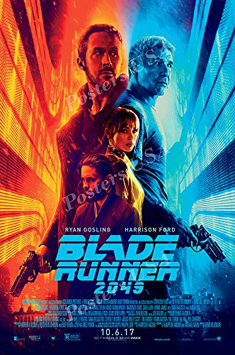 """Posters USA Blade Runner 2049 Movie Poster GLOSSY FINISH - FIL659 (24"""" x 36"""" (61cm x 91.5cm))"""