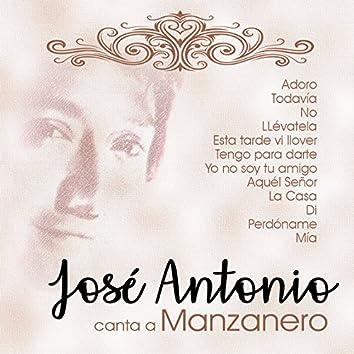 Canta a Manzanero