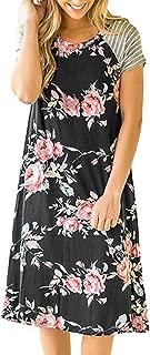 Best flower t shirt dress Reviews