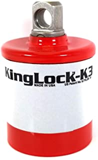 """K-3 Hydrant Locking System, Durable, Reflective, Hydrant Lockout Tagout Device, 1.5"""" Operating Nut, Fire Hydrant Adapter"""