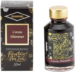 Diamine - Shimmering Fountain Pen Ink, Cocoa Shimmer 50ml