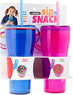 sippy cup snack holder