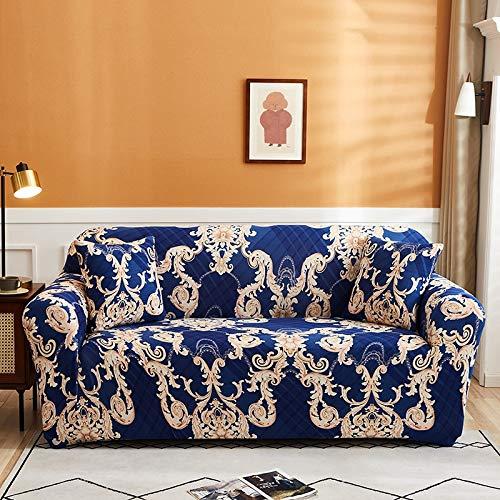 PPMP Funda de sofá elástica para Sala de Estar Funda de sofá elástica Funda de sofá elástica Funda de sillón de Esquina en Forma de L A14 2 plazas