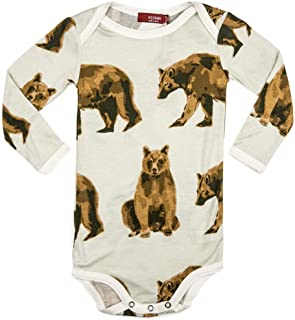 Bamboo Baby Long Sleeve One Piece, Bear