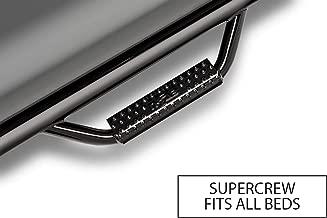N-FAB F0480SC Gloss Black Nerf Step; Cab Length Ford F150 / Lobo SuperCrew All Beds 04-08
