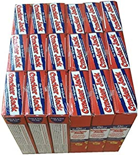 Cracker Jacks Boxes Original 18 Packs of 1 Oz Caramel Coated Popcorn & Peanuts Prize in Every Box